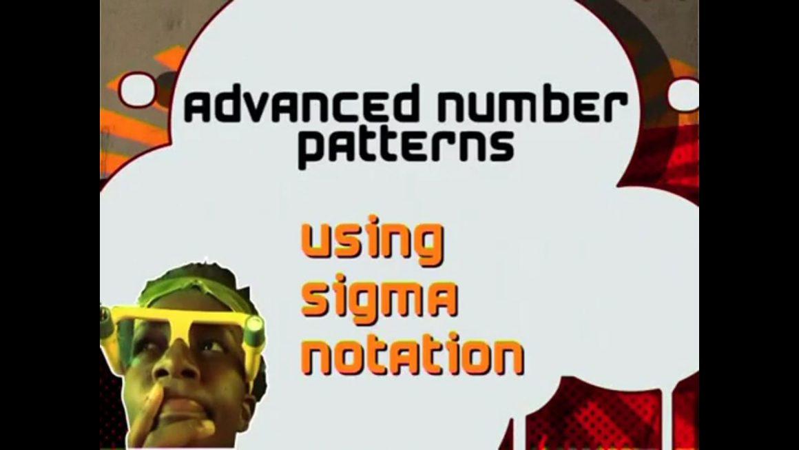 02 Using Sigma Notation