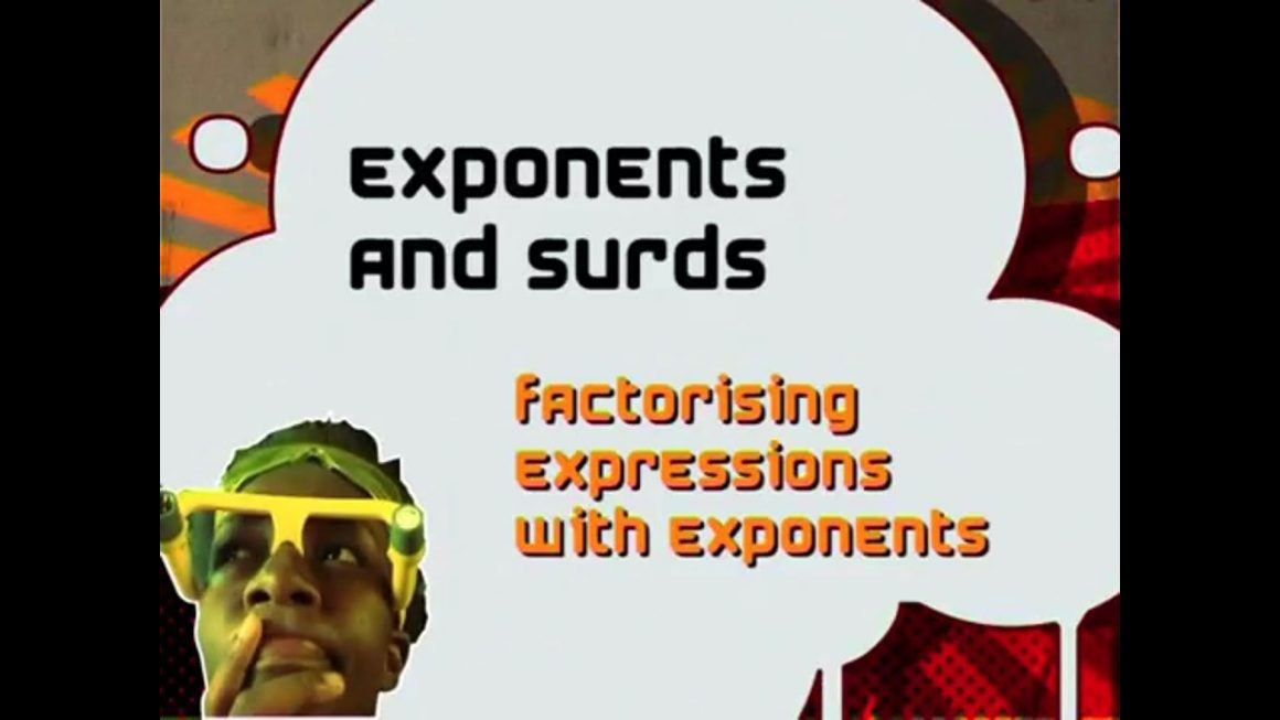 04 Factorising Expressions with Exponents