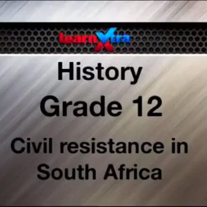 06 Civil Resistance in South Africa