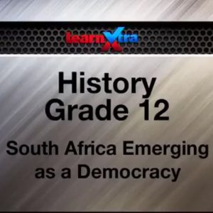 08 South Africa Emerging as a Democracy