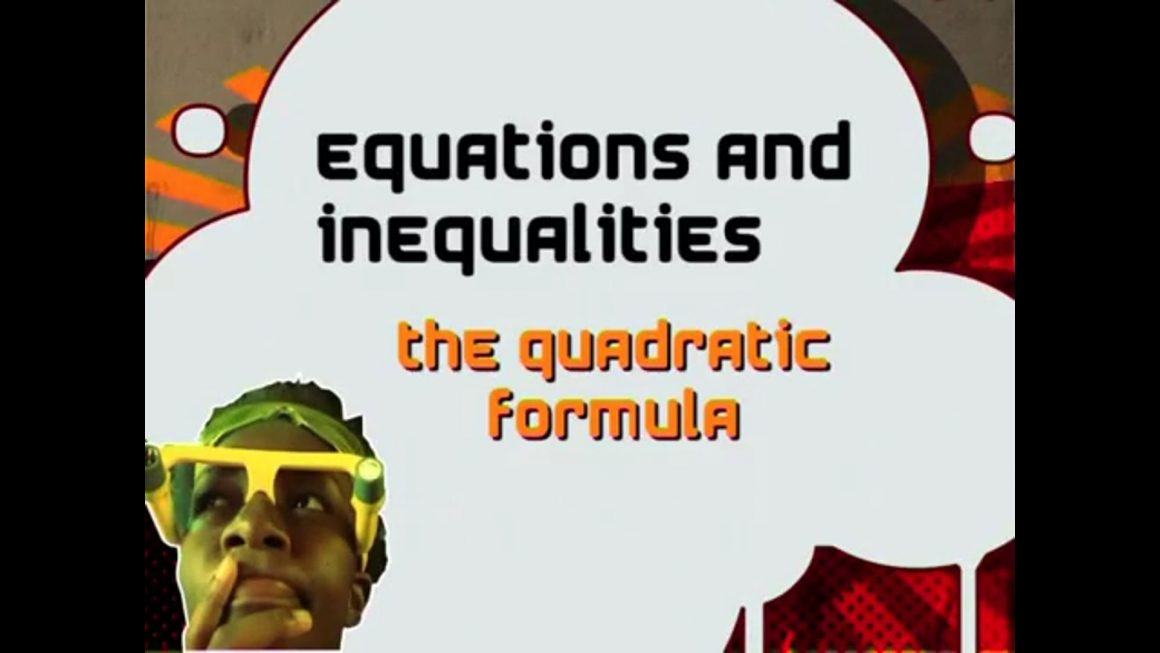 11 The Quadratic Formula