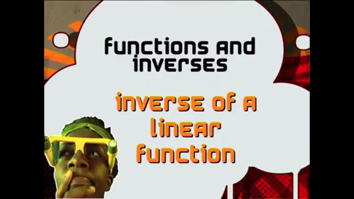 13 Inverse of a Linear Function