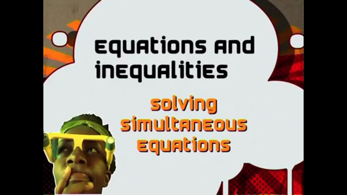 13 Solving Simultaneous Equations