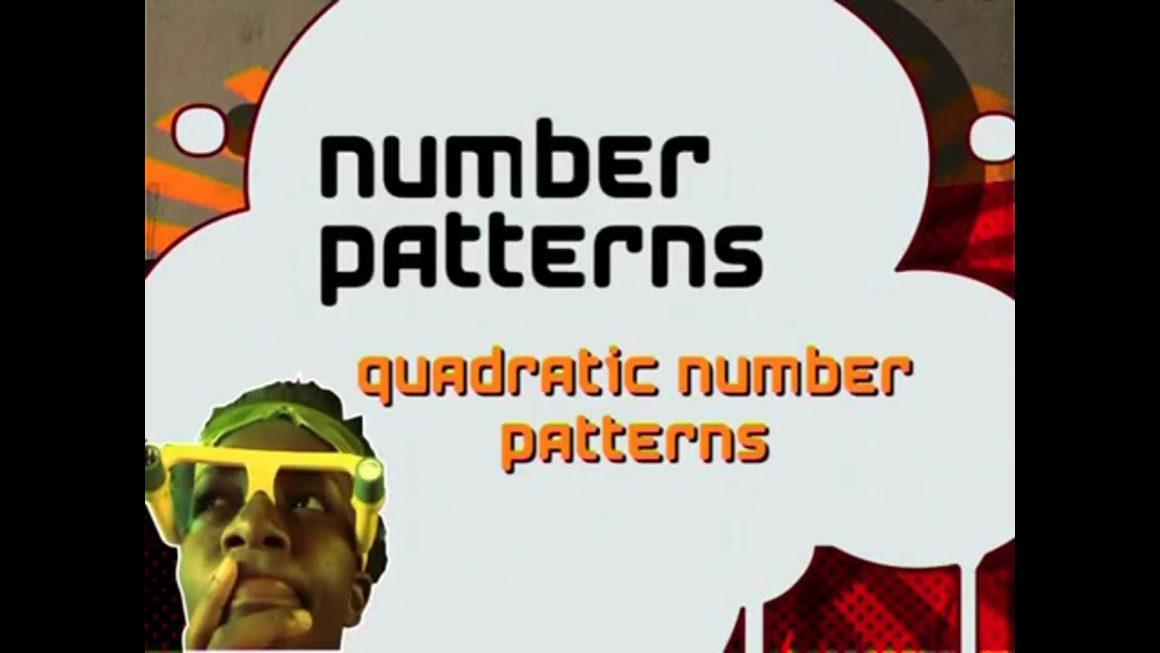 16 Quadratic Number Patterns