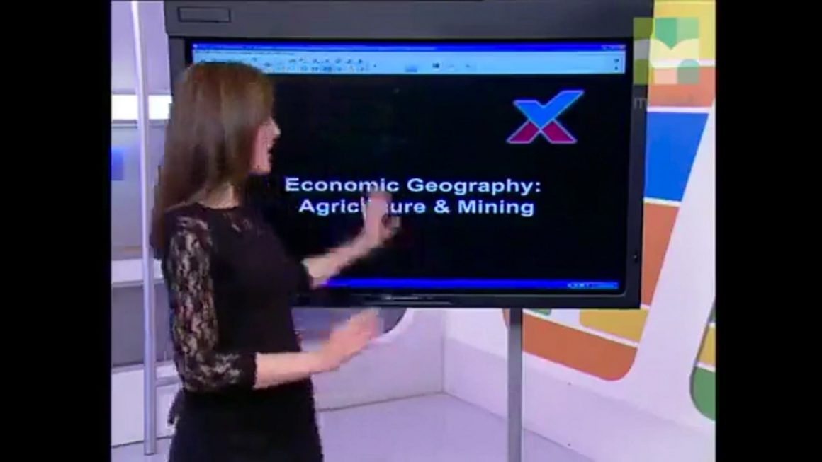 22 Economic Geography I – Agriculture & Mining