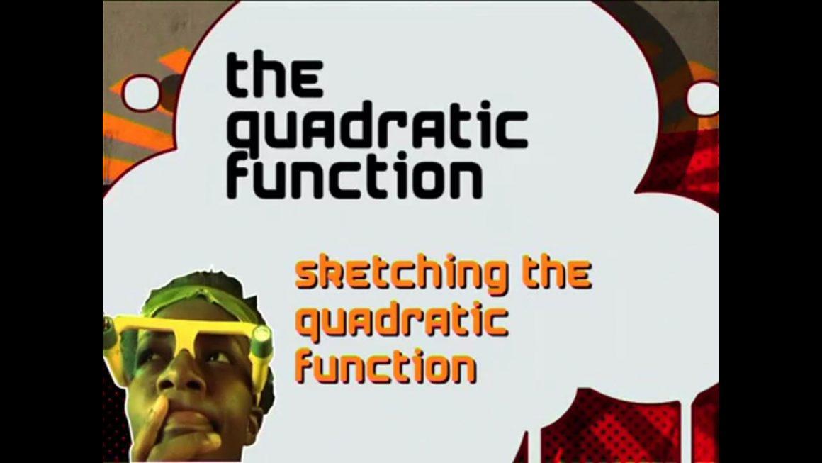 25 Sketching the Quadratic Function