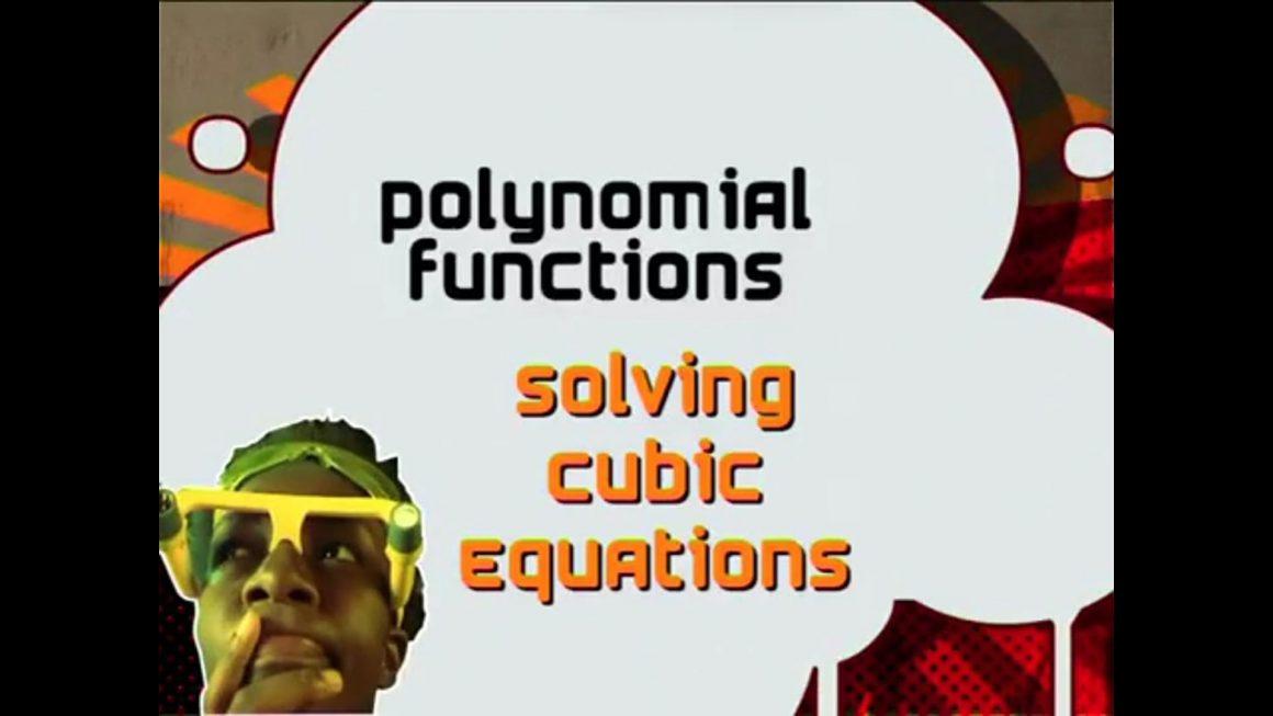 36 Solving Cubic Equations