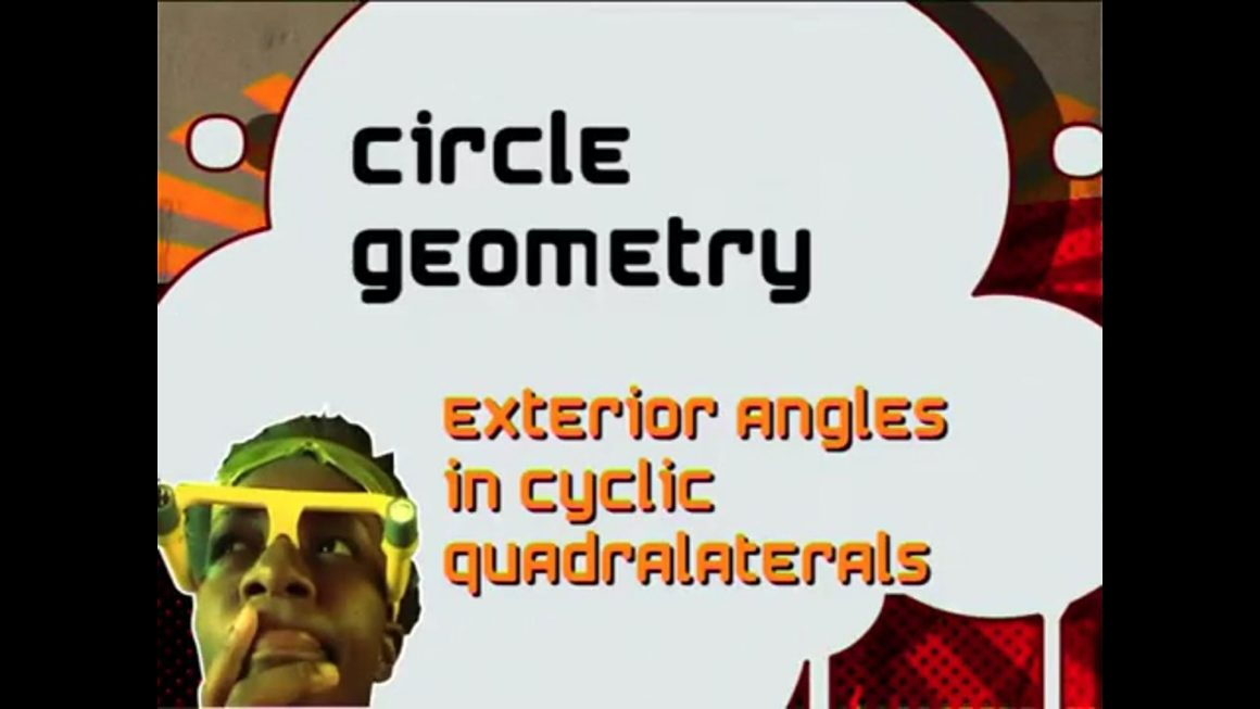 59 Exterior Angles in Cyclic Quadrilaterals