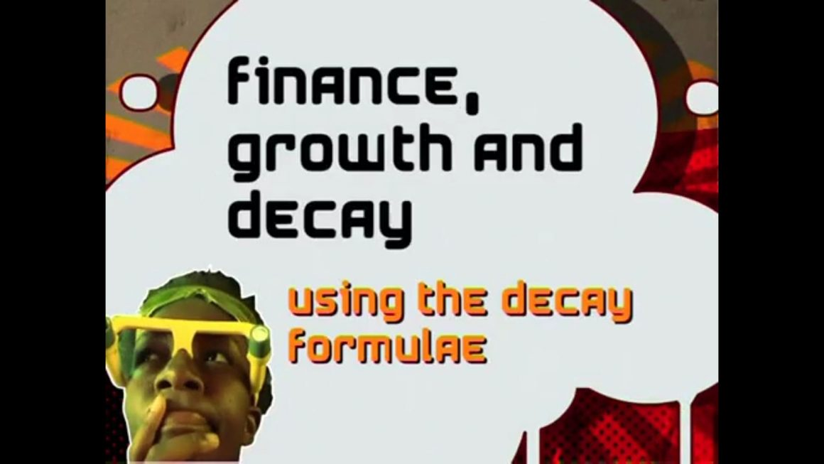 73 Using the Decay Formulae