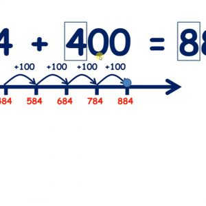Add a multiple of 100 to a three-digit number
