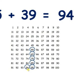 Add or subtract the nearest multiple of 10 and adjust with T9 on a hundred square