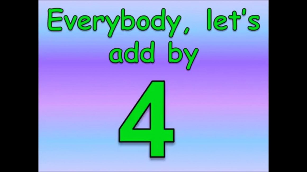 Adding by 04 Song (Math Facts)