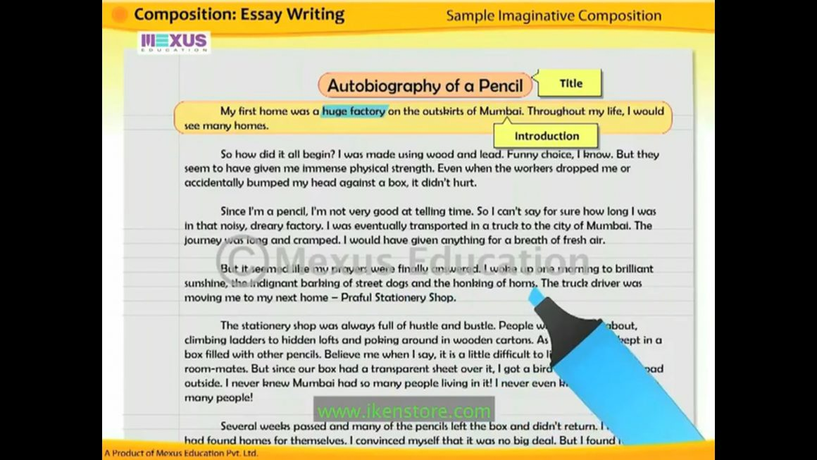 Composition – Essay Writing