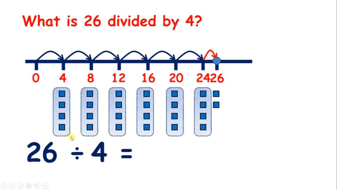 Divide 6, 7, 8, 9 – Divide with remainders