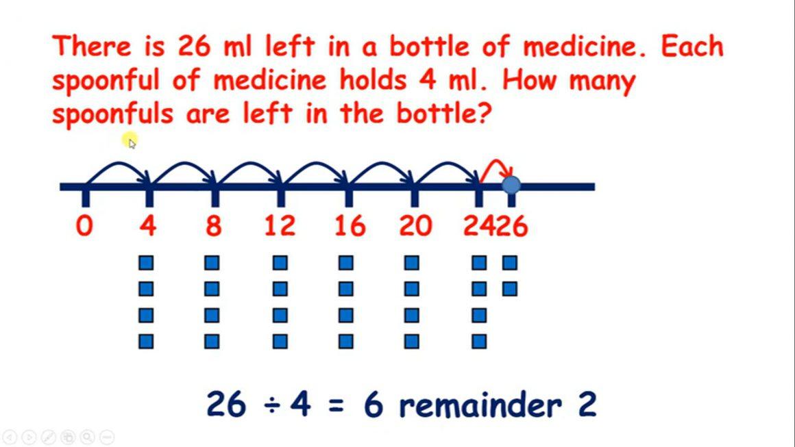 Divide 6, 7, 8, 9 – Round remainders