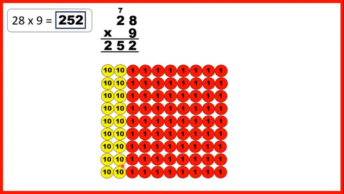 Multiply by a two-digit number using the column method.mp4