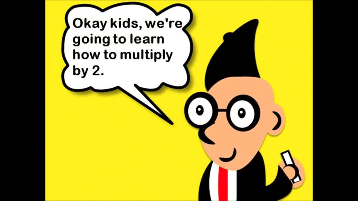 Multiplying by 2 Song  Two Times Table