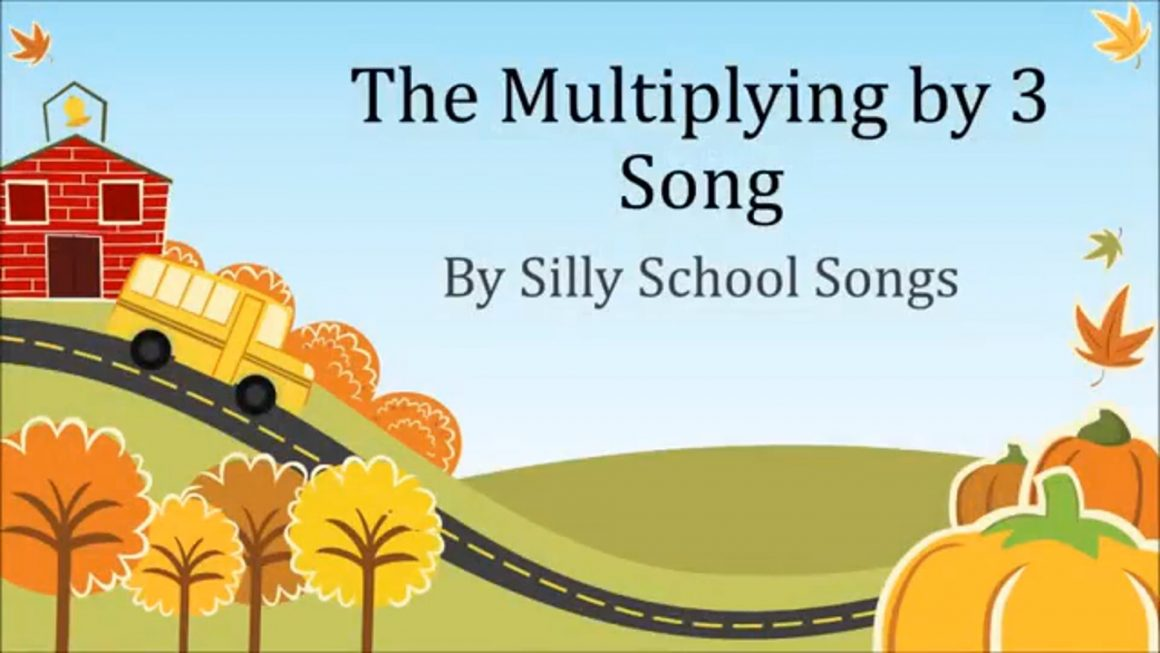 Multiplying by 3 Song  3 Times Table
