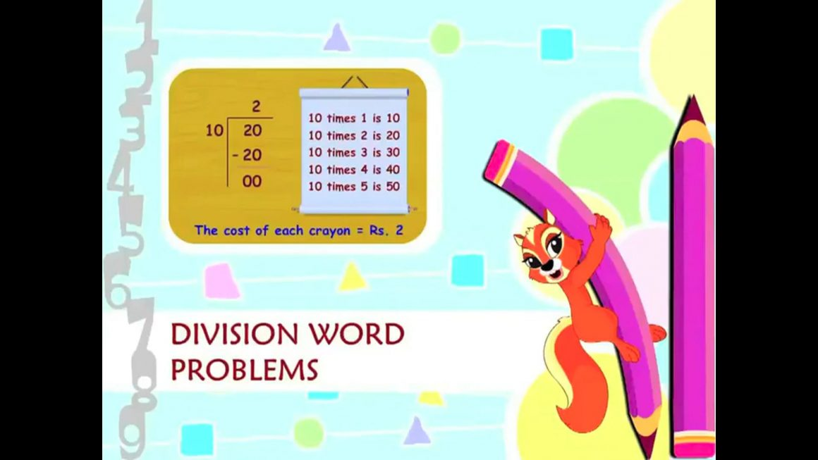 Cool Math – Division Word Problems