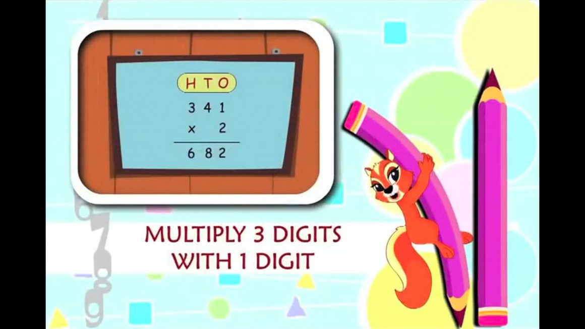 Cool Math – Multiply 3 Digits with 1 Digit
