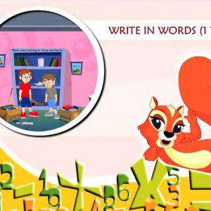 Cool Math – Write in words (1 to 50)