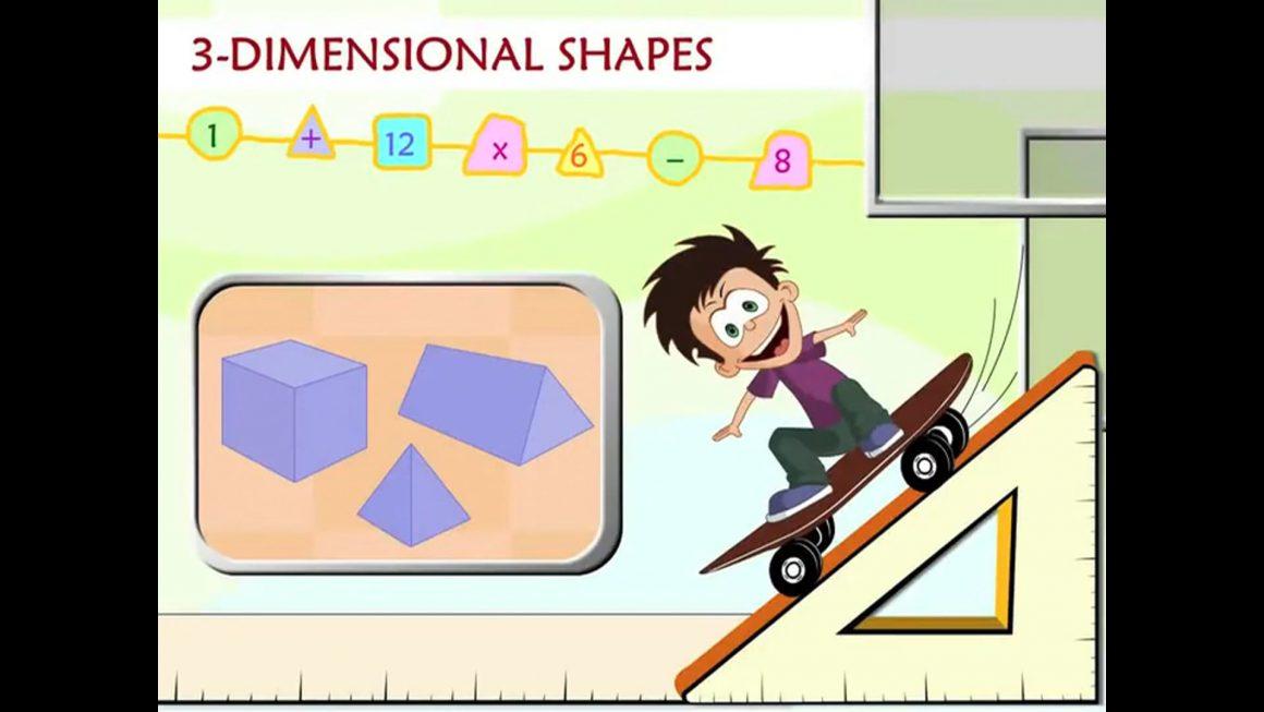 Math for kids – 3D Shapes