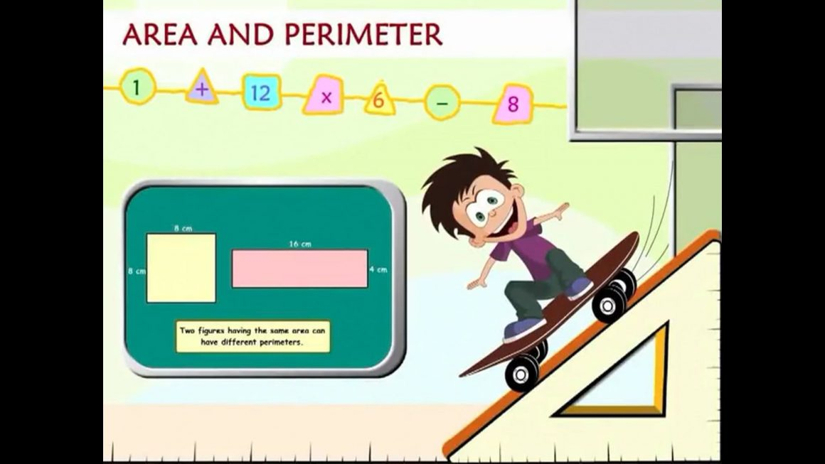 Math for kids – Area and Perimeter