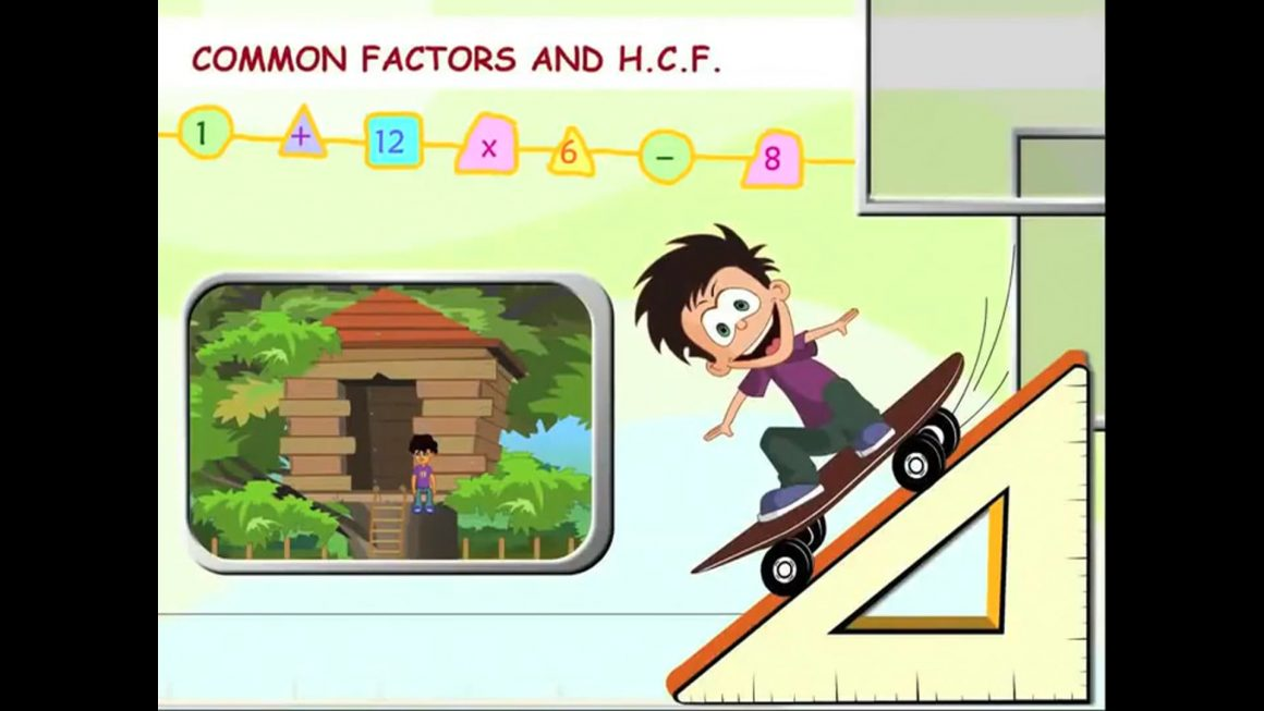 Math for kids – Common Factors and HCF