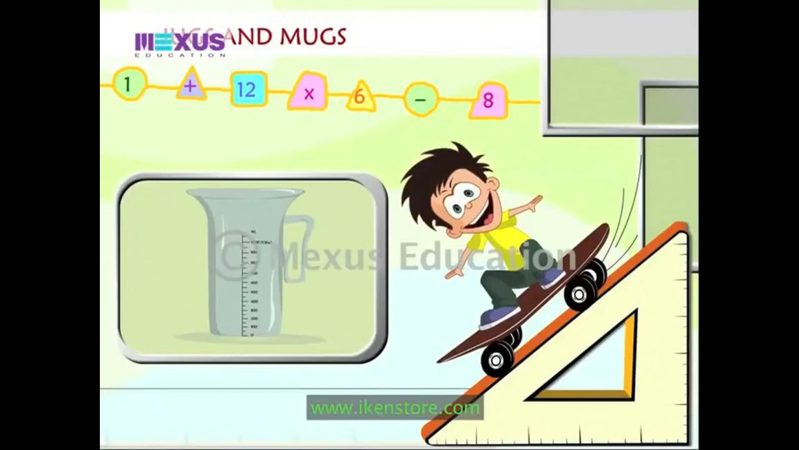 Math for kids – Jugs and Mugs