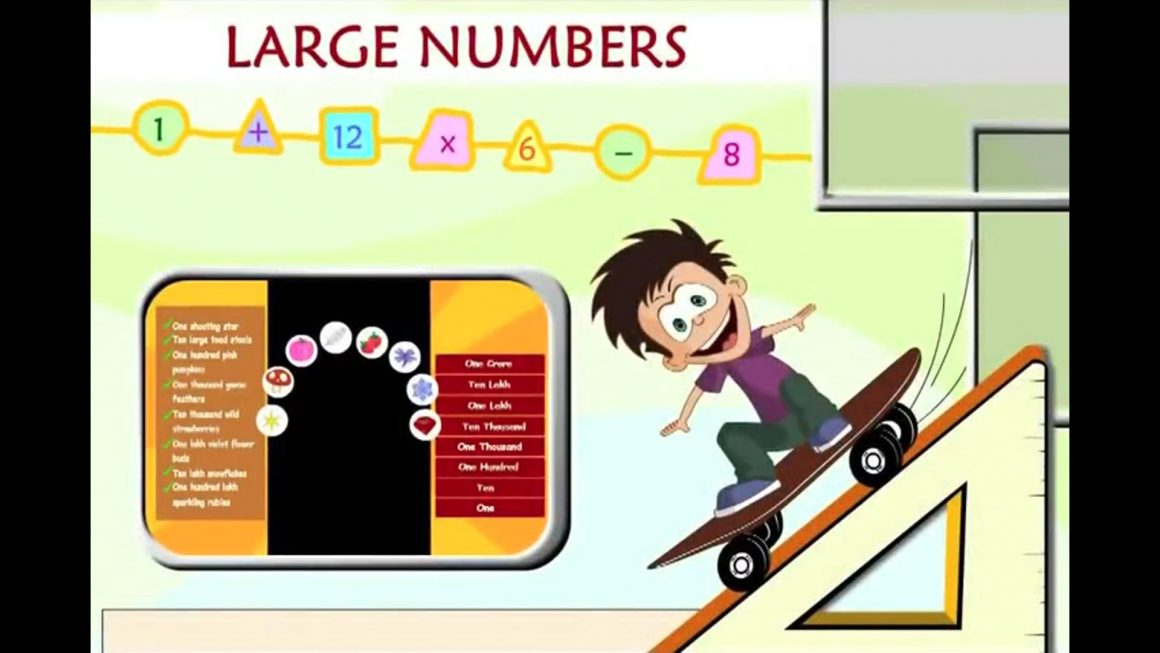 Math for kids – Large Numbers