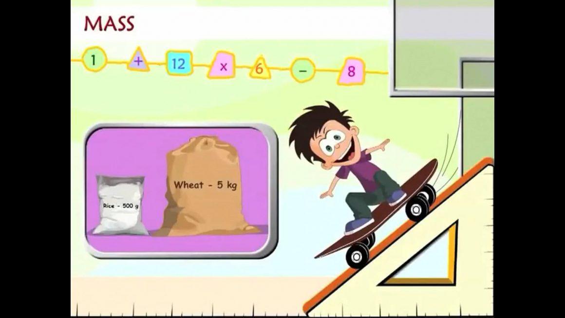 Math for kids – Mass