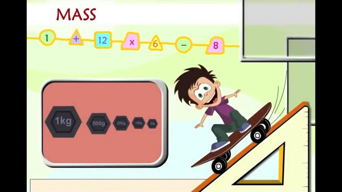 Math for kids – Mass of Objects