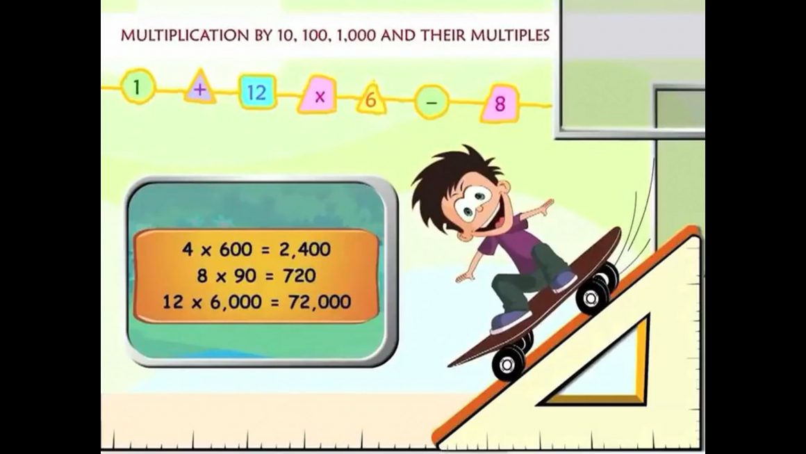 Math for kids – Multiplication by 10, 100, 1000 and their Multiples