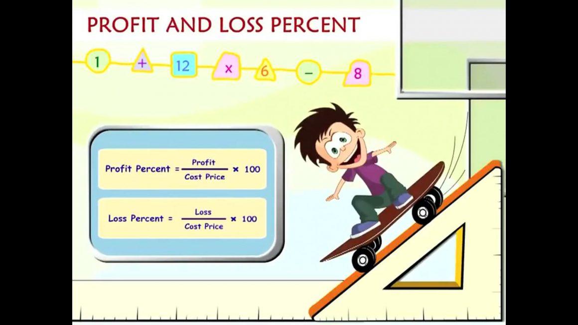 Math for kids – Profit and Loss Percent