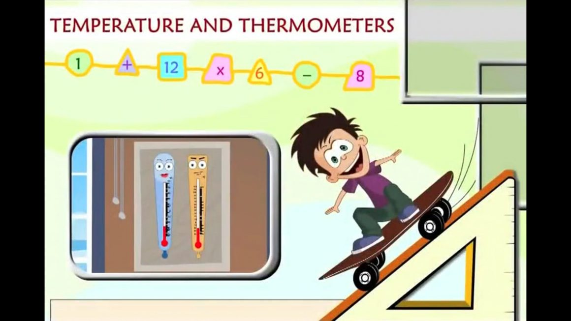 Math for kids – Temperature and Thermometers