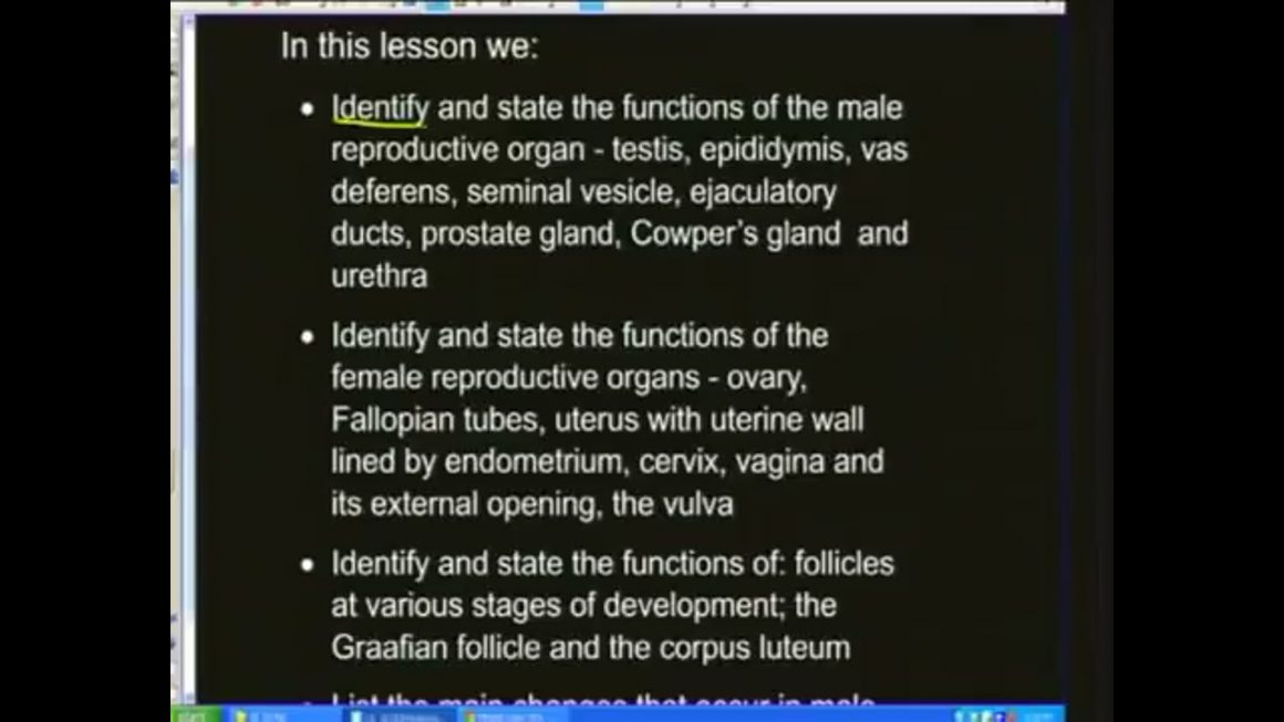 05 Structure of male & female Reproductive Systems