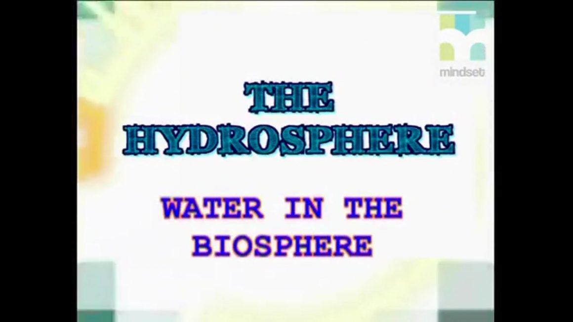 117 Water in the Biosphere