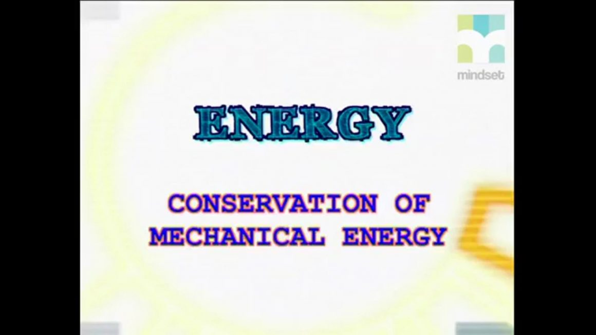 116 Conservation of mechanical energy