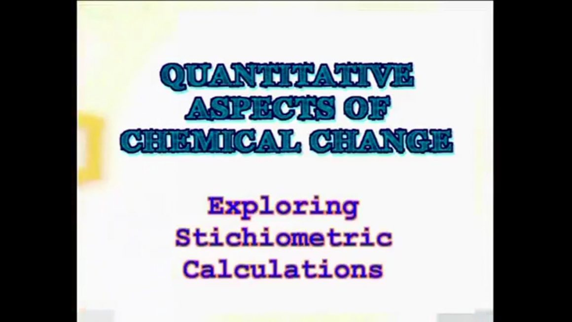 102 Exploring Stoichiometric Calculations