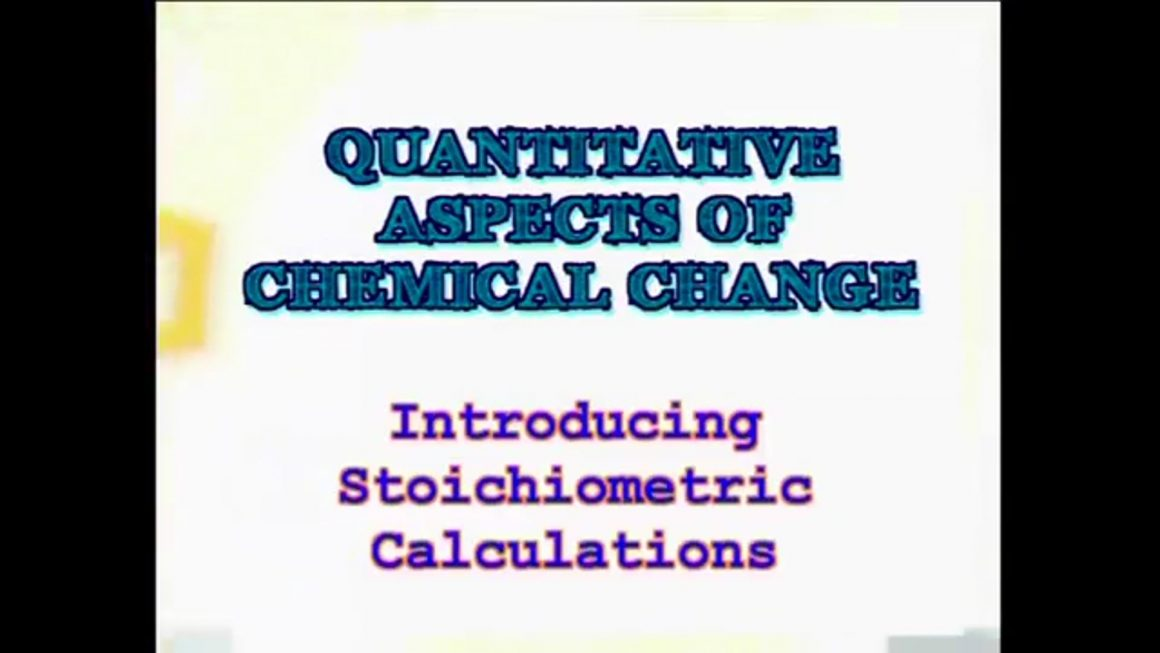 101 Stoichiometric Calculations