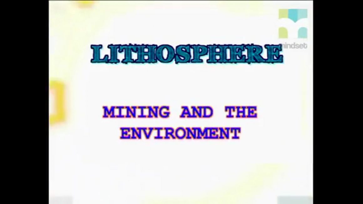 105 Mining and the Environment