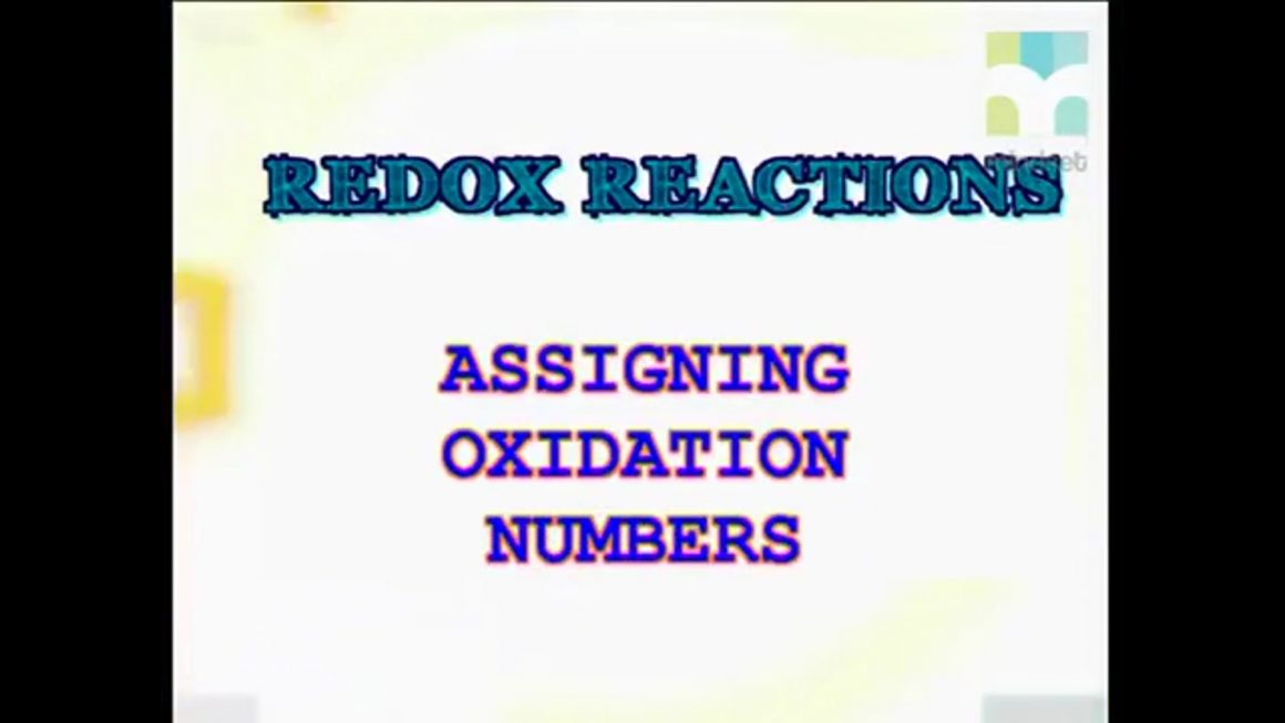 96 Assigning Oxidation Numbers