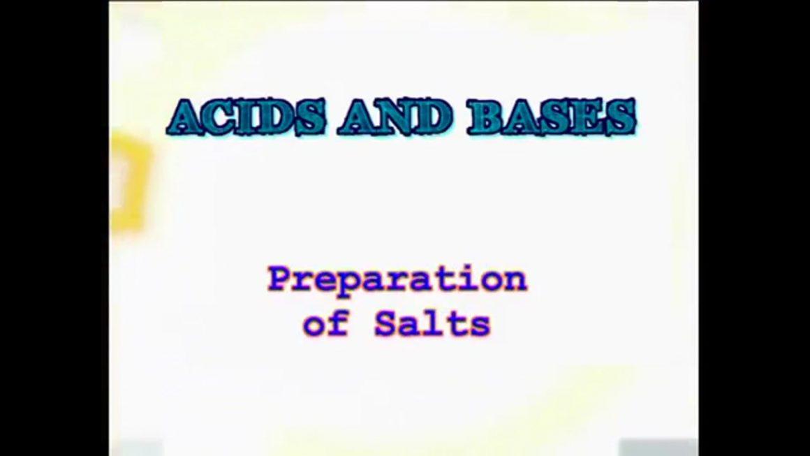 94 Preparation of Salts