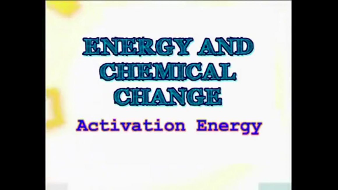 89 Activation Energy