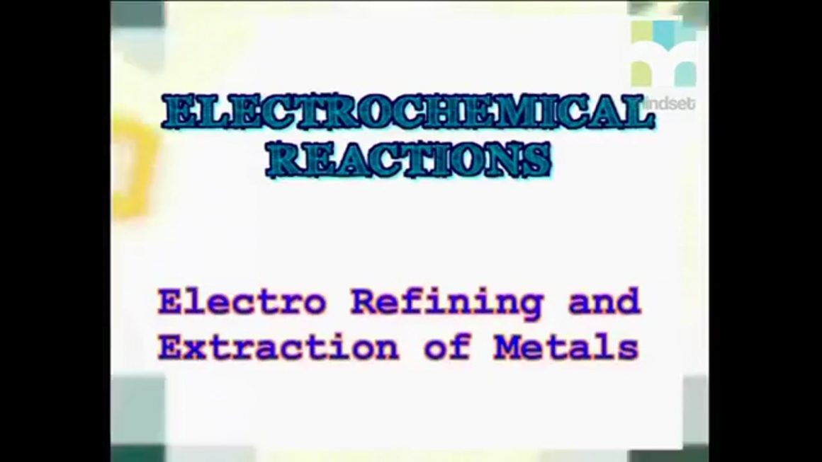 74 Electro Refining and Extraction of Metals
