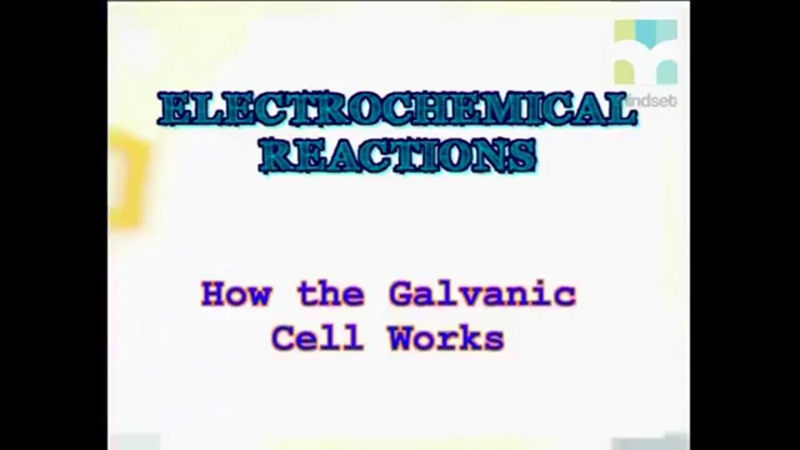 68 How the Galvanic Cell Works