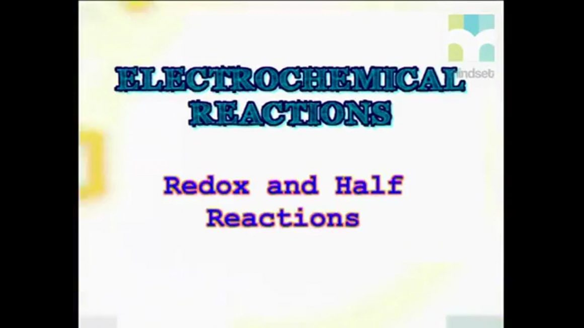 67 Redox and Half Reactions