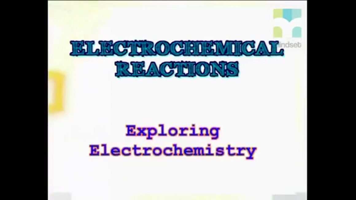 65 Exploring Electrochemistry