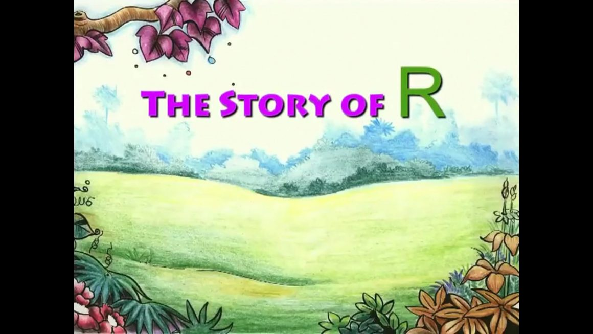 Story Of Letter R for Nursery Kids
