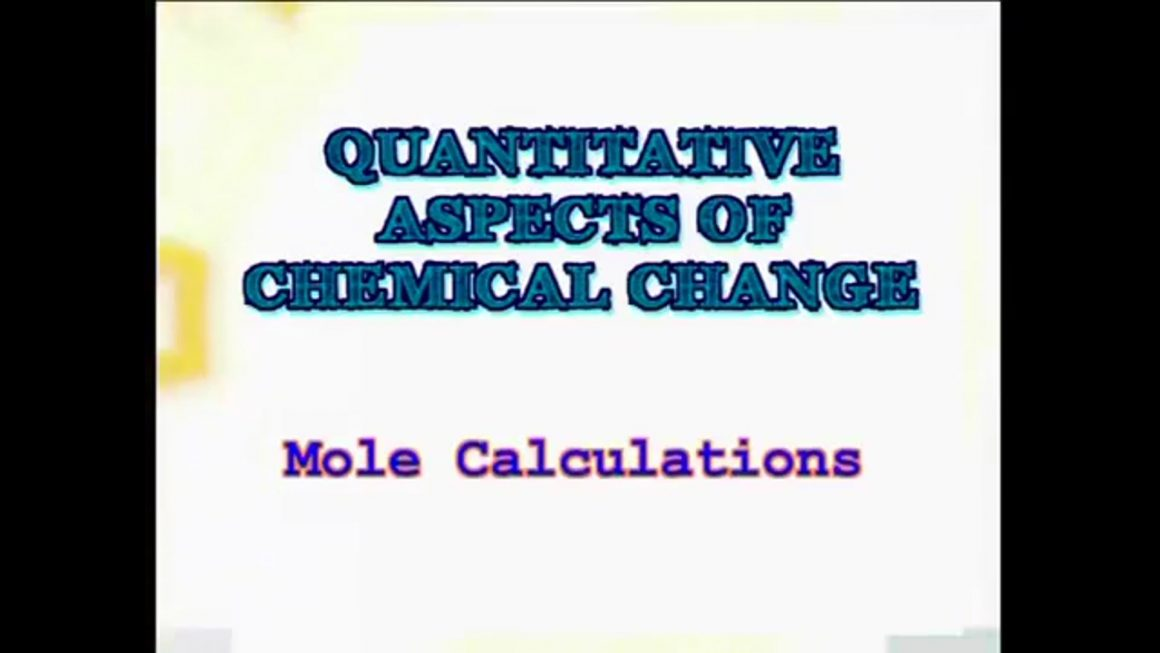 96 Mole Calculations
